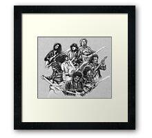 Legends of the Axe Framed Print