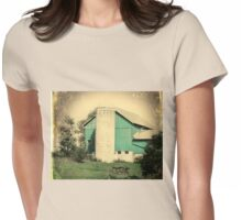 Old Blue Barn Womens Fitted T-Shirt