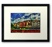 Florence Italy Fine Art Print Framed Print