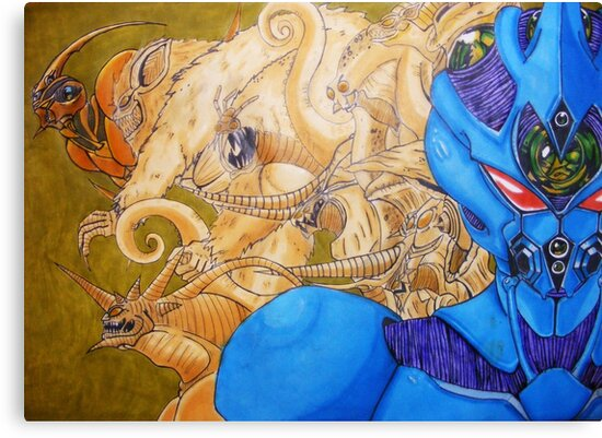 The Guyver by scribbletits