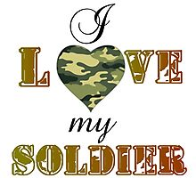 MY SOLDIER Photographic Print