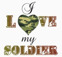 MY SOLDIER Kids Tee
