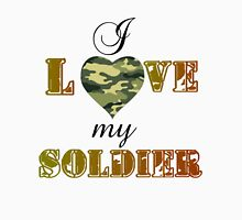 MY SOLDIER Womens Fitted T-Shirt
