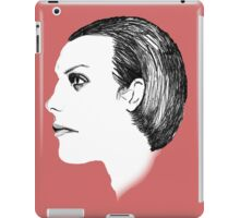 Dave Vanian The Damned Fineliner iPad Case/Skin