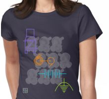 """""""Engineering Symbols - COLORS""""© Womens Fitted T-Shirt"""