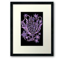 Budding Flower Series 1.3 Framed Print