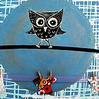 Mr Owl and the Laundry  by Debbie  Widmer