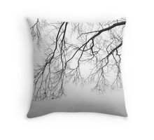Last of the Autumn Leaves Throw Pillow