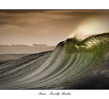 Isaac's Right - Friendly Beaches, Tasmania by Liam Byrne