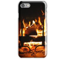 Fireplace | Old Bethpage, New York  iPhone Case/Skin