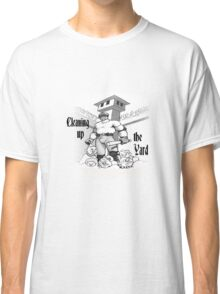 Cleaning up the yard Classic T-Shirt