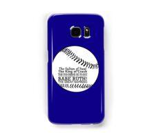 Babe Ruth and his nicknames Samsung Galaxy Case/Skin