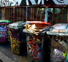 Hosier Lane Panorama 01 by Ryan Creevey