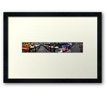 Hosier Lane Panorama 01 Framed Print