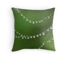 Spotted Circles Throw Pillow