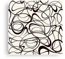 Modern stylish texture Canvas Print