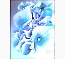 Calla Lily Soft Lilac and Blue Unisex T-Shirt