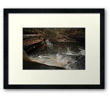 Top of Giant's Bathtub Falls Framed Print