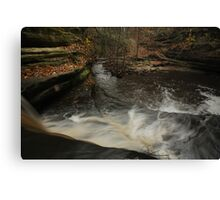 Top of Giant's Bathtub Falls Canvas Print