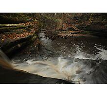 Top of Giant's Bathtub Falls Photographic Print