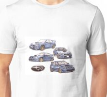 Subaru evolution  Unisex T-Shirt
