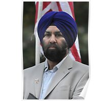 SIKHS FOR JUSTICE Plate #9 Poster