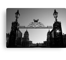 greenwich gate Canvas Print
