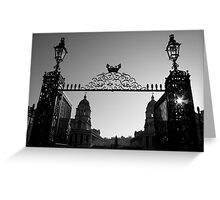 greenwich gate Greeting Card