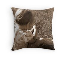 The Mind of a Child.... Throw Pillow