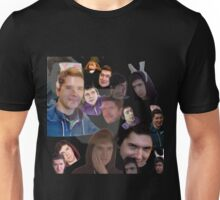 Aleks face collage Unisex T-Shirt