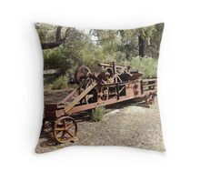 OLD FARM IMPLEMENT Throw Pillow