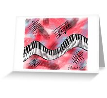 Music Moves Me Greeting Card