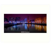 Liverpool Docks Art Print