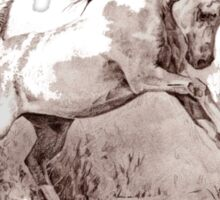 The Horse tee Sticker