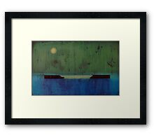 Number 11 Framed Print