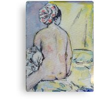 ACEO of the Valpincon bather by Ingres Canvas Print