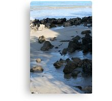 summers day at Walkerville, Victoria Canvas Print