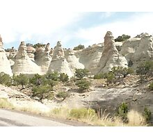 Sandstone Rock Formations near Canyonlands National Park. Photographic Print