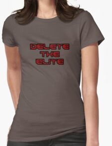 Delete the Elite Womens Fitted T-Shirt