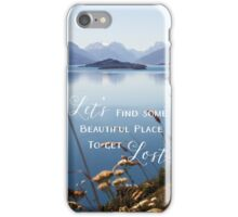 Let's Get Lost iPhone Case/Skin