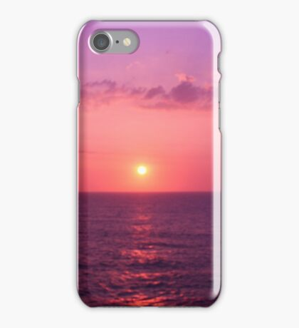 Sunset over the Sargasso Sea iPhone Case/Skin