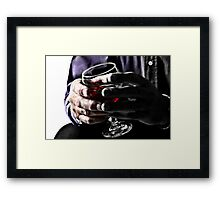 The Glass, Tipped 2 Framed Print