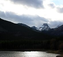 Silver Waters and Mountain Peaks by Alyce Taylor