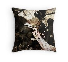 Holes in my heart  Throw Pillow