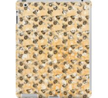Bees and Blooms:  Watercolor illustrated honeybee print iPad Case/Skin