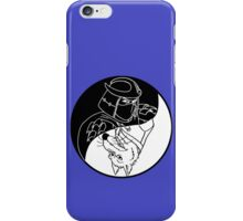 TMNT - Yin Yang - Shredder & Splinter 03 - Black iPhone Case/Skin