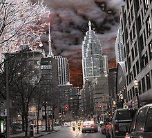 Esplanade Toronto by PPPhotoArt