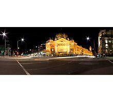 Flinders Street Photographic Print