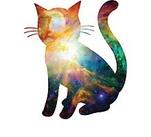 Heart of Orion | Space Kitty Photographic Print