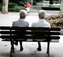 China Chatting Elders by eyesoftheeast